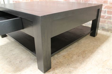 square parsons style coffee table ecustomfinishes
