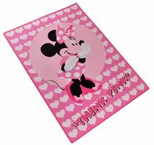 Minnie Mouse Teppich : kinder teppich disney minnie mouse think pink 95x133 cm rosa ebay ~ Indierocktalk.com Haus und Dekorationen