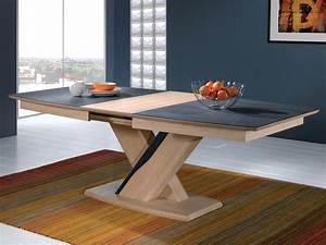 table centrale meublesgrahambarrycom With deco cuisine avec table chaise design