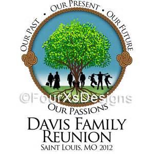 brag book photo album fourxdesigns logo davis family reunion