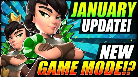 Next Big Update In January!? New Game Mode Coming!? Update