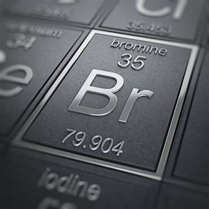 Bromine Facts  Atomic Number 35 Or Br