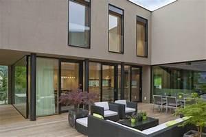 Welche Fassadenfarbe Passt Zu Braunen Fenstern : einfamilienhaus mehr farbkonzept nido pinterest einfamilienhaus fassaden und fassadenfarbe ~ Indierocktalk.com Haus und Dekorationen