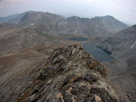 glaciers granite wind river high route thru hike photos