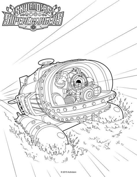 Kleurplaat Skylanders Terrafin by Kleurplaten En Zo 187 Kleurplaten Skylander Superchargers