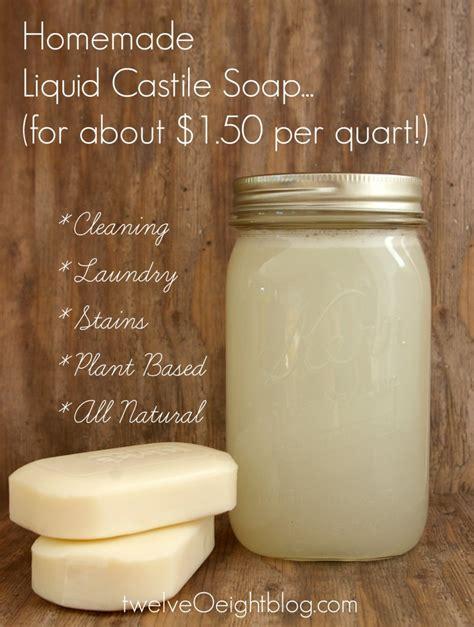soap recipe how to make liquid castile soap