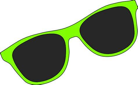 Green Sunglasses Clip Art At Clker.com
