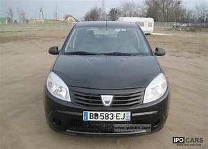 Dacia Sandero 2010 : 2010 dacia sandero lpg car photo and specs ~ Gottalentnigeria.com Avis de Voitures