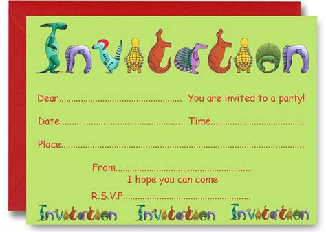 boys birthday invatation templates 17 dinosaur birthday invitations how to sle templates