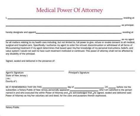 Power Attorney Template - Costumepartyrun