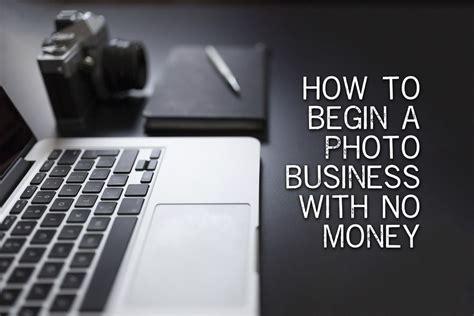 photography business   start