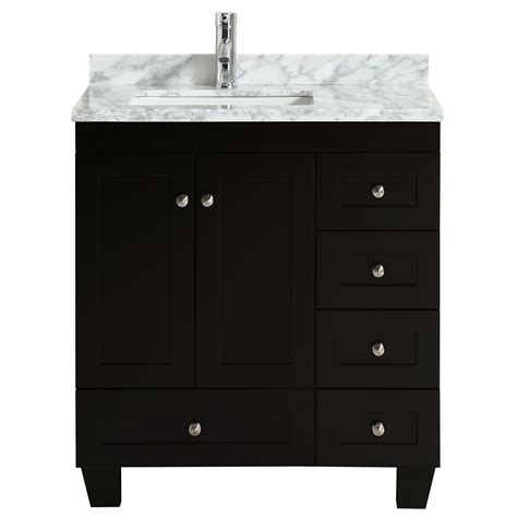 Want to shop bathroom vanities nearby? Eviva Happy 30 X 18 Transitional Espresso Bathroom Vanity ...