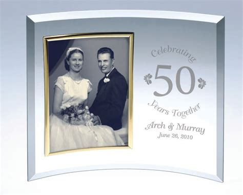personalized curved glass picture frame  classic