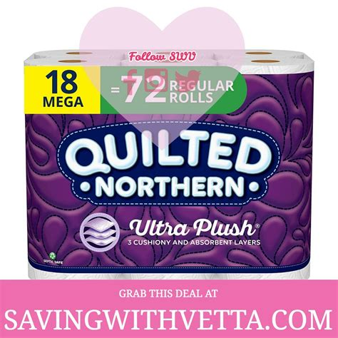 Quilted Northern Ultra Plush® Toilet Paper, 18 Mega Rolls