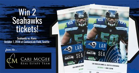 win   seahawks  rams  cari mcgee real