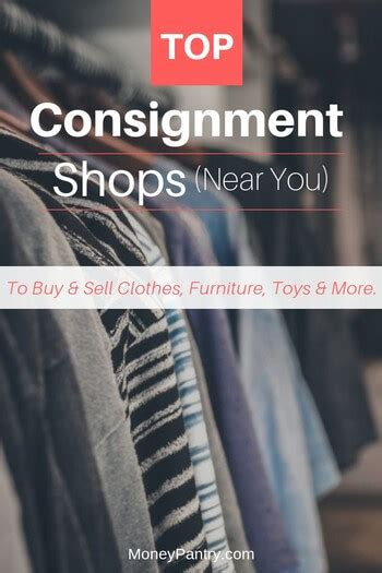 consignment shops    buy sell clothes