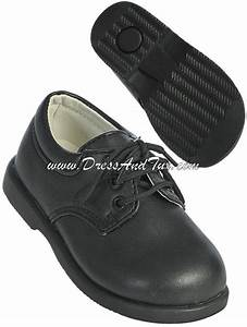 Boys Black Formal Dress Shoes 2599 Dress And