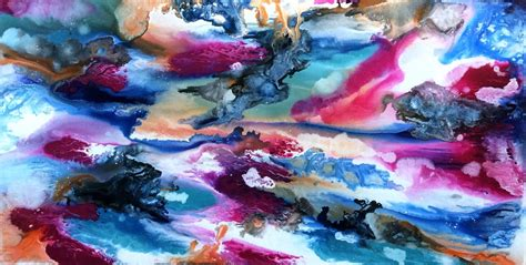 galaxy abstract paintings