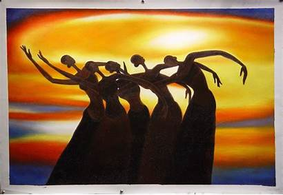 African American Painting Paintings Famous Oil Dance