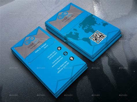 corporate business card  photoshop graphicriver
