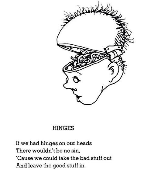 Hinges by Shel Silverstein | Silverstein poems, Shel