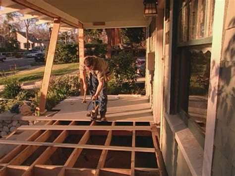 Porch Flooring by How To Install Porch Flooring How Tos Diy