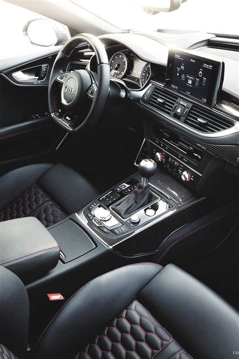 audi rs interior carsmoto pinterest
