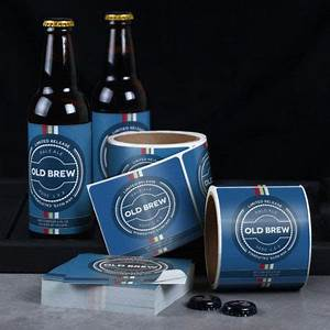 custom can labels printing more to decorate your cans With custom beer can labels