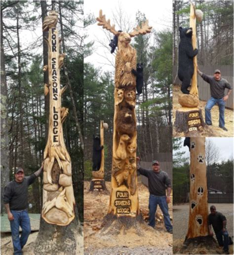 43 Best Images About Josh Landry's Custom Chainsaw