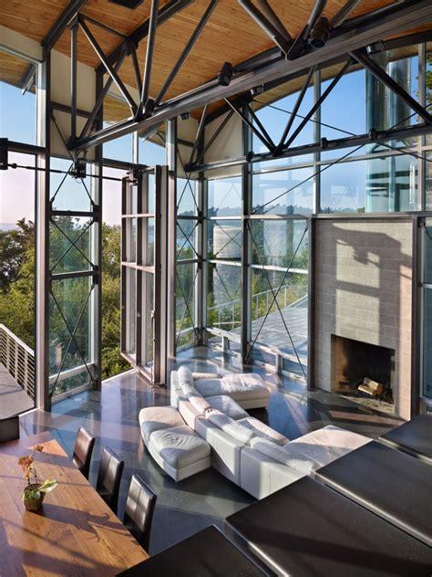 maison moderne au style loft