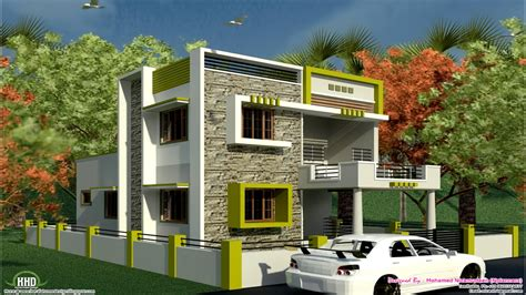 elevation  modern houses  india south indian style