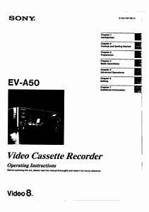 Sony Ev-a50