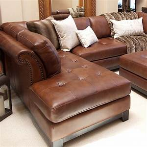 Corsario leather sectional with left facing chaise and for Leather sectional sofa with left facing chaise