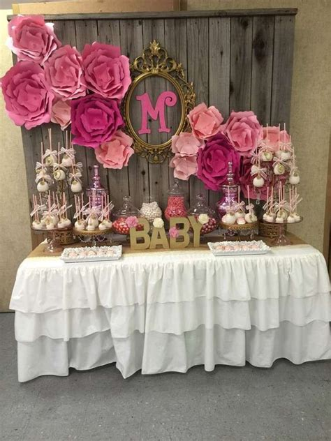 cute baby shower dessert table decor ideas digsdigs
