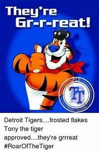 They're Gr-R-Reat! ML RASH ALTOS Detroit Tigersfrosted ...
