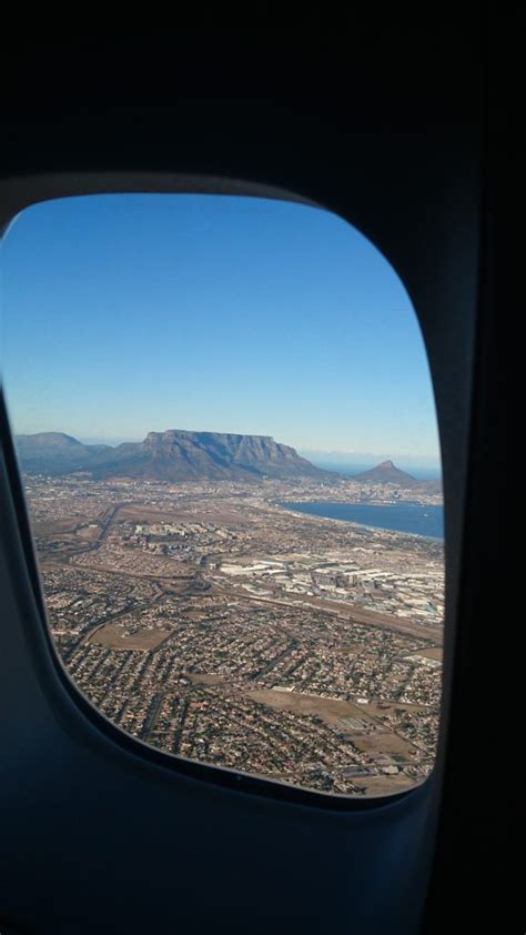 Monday Geology Picture Airplane View Of Table Mountain