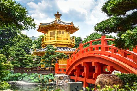 Nan Lian Garden In Hong Kong Jigsaw Puzzle In Bridges