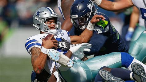 cowboys  seahawks odds spread  playoff game