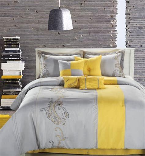 deco chambre jaune et gris la chambre grise 40 idées pour la déco