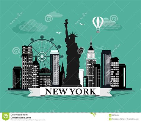 graphic design nyc cool graphic new york city skyline poster with retro