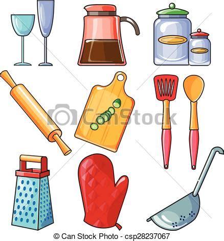 clipart cucina attrezzi cottura utensili cucina apparecchiatura set