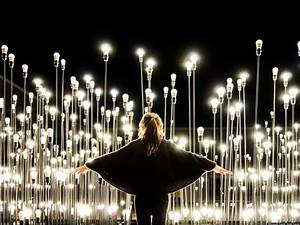 Ledscape, Likearchitects, Create, Dazzling, Interactive, Light, Installation, In, Portugal, Photos