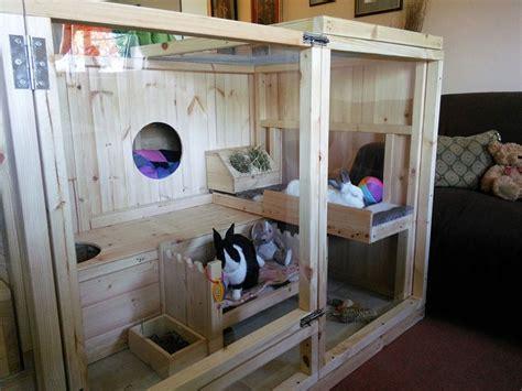 Indoor Wooden Rabbit Hutch - the 25 best indoor rabbit cage ideas on