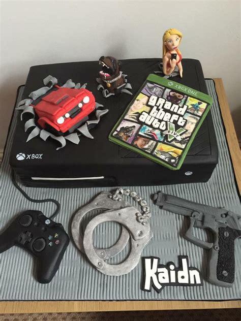 grand theft auto gta xbox cake cakecentralcom