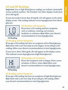 Lo And Hi Readings