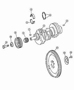 Jeep Grand Cherokee Flex Plate  Crankshaft  Diesel