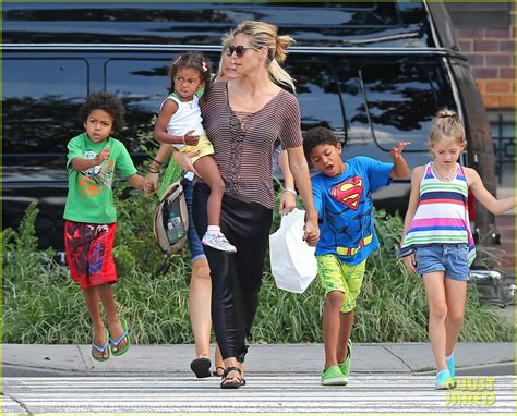 Klum is contractually obligated to film season 16 of germany's next top model in october. Heidi Klum: Out to Lunch with Kids!: Photo 2698361 ...