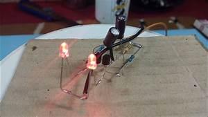 Cara Membuat Lampu Flip Flop Sederhana
