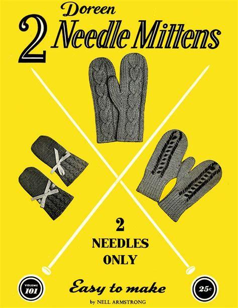 7e1dadec789b Two Needles 8 Pattern Size Mitten