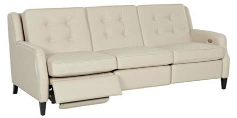 Wall Hugging Reclining Sofa by Saville Mid Century Modern Power Wall Hugger Reclining Sofa